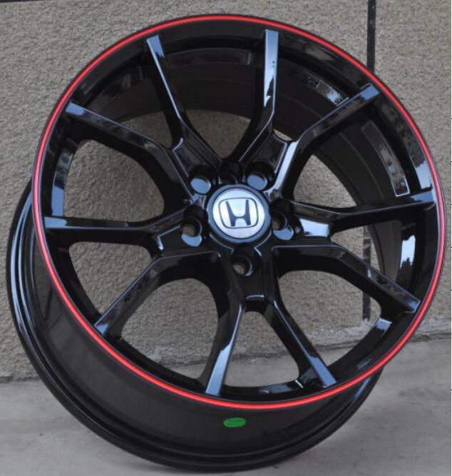 Llantas de aleación de aluminio para coche Honda Accord Civic CR-V, llantas de 17 pulgadas, 17X7.5, 5x114,3, 4x100, nuevas