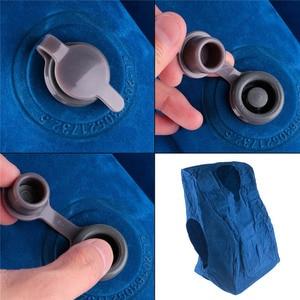 Image 5 - Almohada de viaje almohadas inflables Cojín de aire suave viaje productos innovadores portátiles soporte para la espalda almohada plegable cuello soplado
