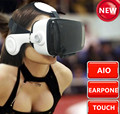 Z4 Vr realidade virtual head-mounted capacete caixa de teatro de 3 d óculos com fone de ouvido e tela de toque para a apple console adulto telefone celular 4