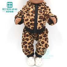 Dolls clothes for 43cm new born doll and American doll Tiger Jackets and Pants Suit baby Suit