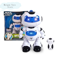 High Quality RC Robot Toy Remote Control Musical Electronic Toy Walk Dance Lightenning Robot Free Shipping