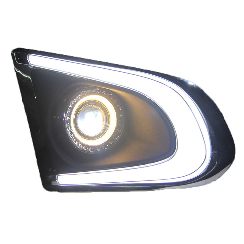 Osmrk СИД DRL дневного света + Ангел глаз + объектив проектора + туман лампы + желтый сигнал поворота для Chevrolet Trax трекер