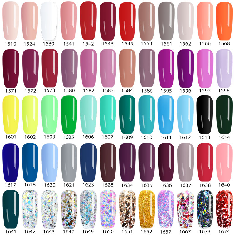 Venalisa UV Gel New 2019 Nail Art Tips Design Manicure 60 Color UV LED Soak Off DIY Paint Gel Ink UV Gel Nail Polishes Lacquer 4