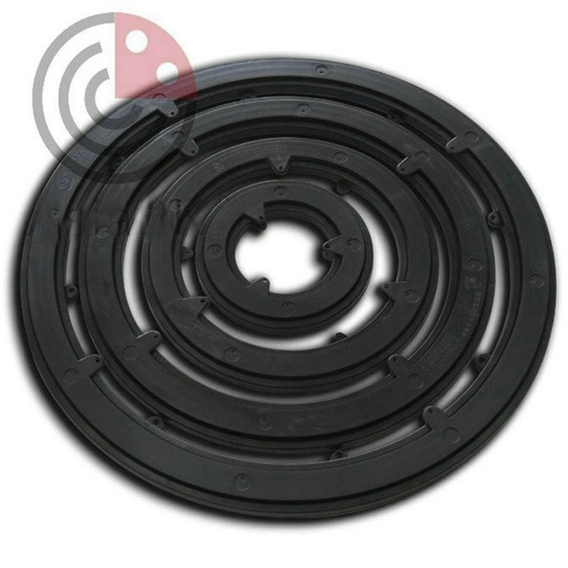 Perabot Putaran Out Dia250MM (10 inci) ABS + PC Plastik Turntable, - Perabot - Foto 6