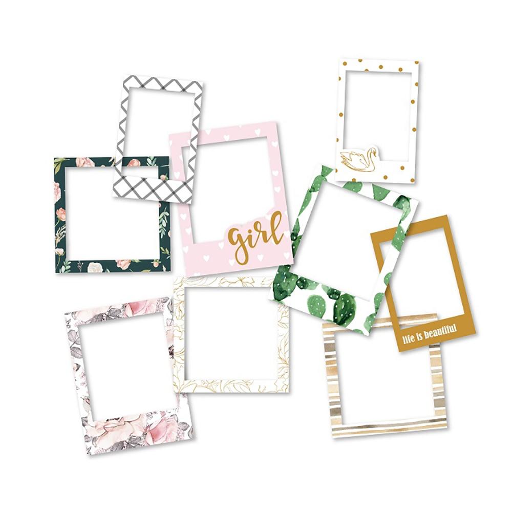 Lovedoki Cute Korean Planner Photo Decorative Sticker Project Life Diy Accessories Self Adhesive Sticker Bullet Journal Supplies