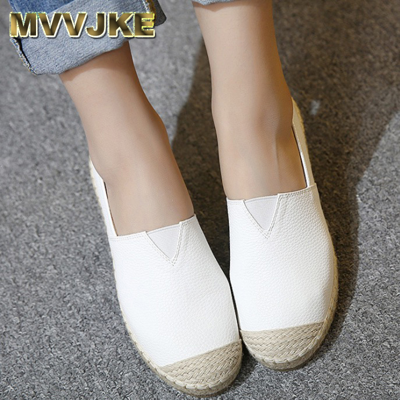 MVVJKE Flats Women Shoes 2017 New Spring Summer Women Casual Shoes Breathable Slip-On Loafers big size 34-43 wdzkn 2018 big size 35 42 women shoes breathable casual shoes women spring summer lightweight slip on loafers women flat shoes