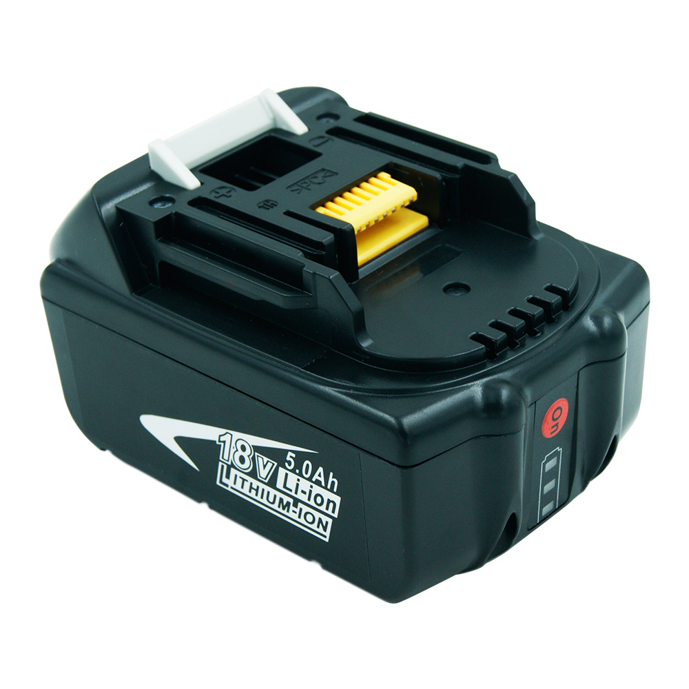 New 18V LXT Lithium-Ion 5.0Ah Battery with LED Indicator for Makita BL1850 BL1840 BL1830 LXT-400 194204-5 Cordless Power Tools hot 2x 18v 4 0ah battery for makita bl1840 bl1830 bl1815 lxt lithium ion cordless