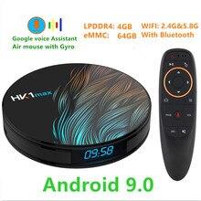 Transpeed Android 9.0 Smart TV BOX 4 K 3D RK3328 4G DDR3 RAM 64G ROM Odbiornik TV Wifi mediów odtwarzacz wolne aplikacje bardzo szybko top Box