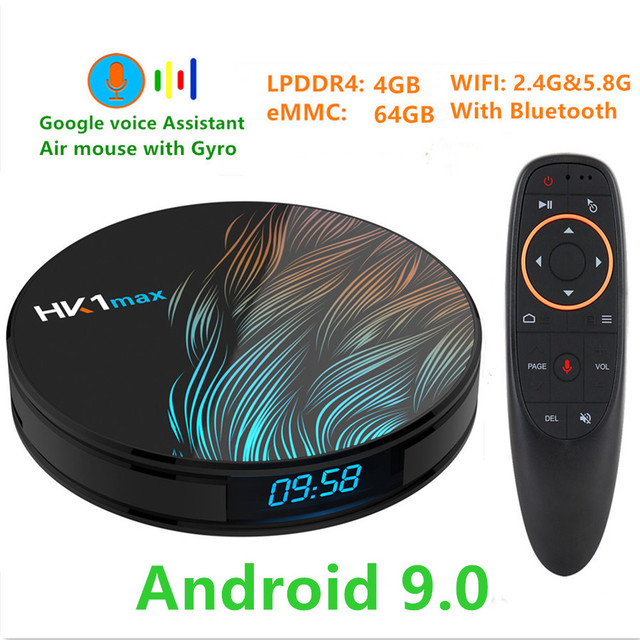 Transpeed Android 9.0 TV BOX 4K 3D 4G DDR3 RAM 64G ROM TV receiver Wifi Media player Very Fast top Box