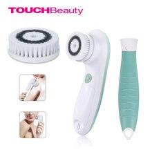 Touchbeauty  Электрическая щетка 2в1 для очистки лица и тела