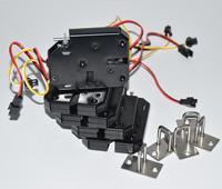 5 pçs eletromagnética armário de controle elétrico armários de gaveta para 12 v dc trava de bloqueio de aço carbono porta preta controle acesso