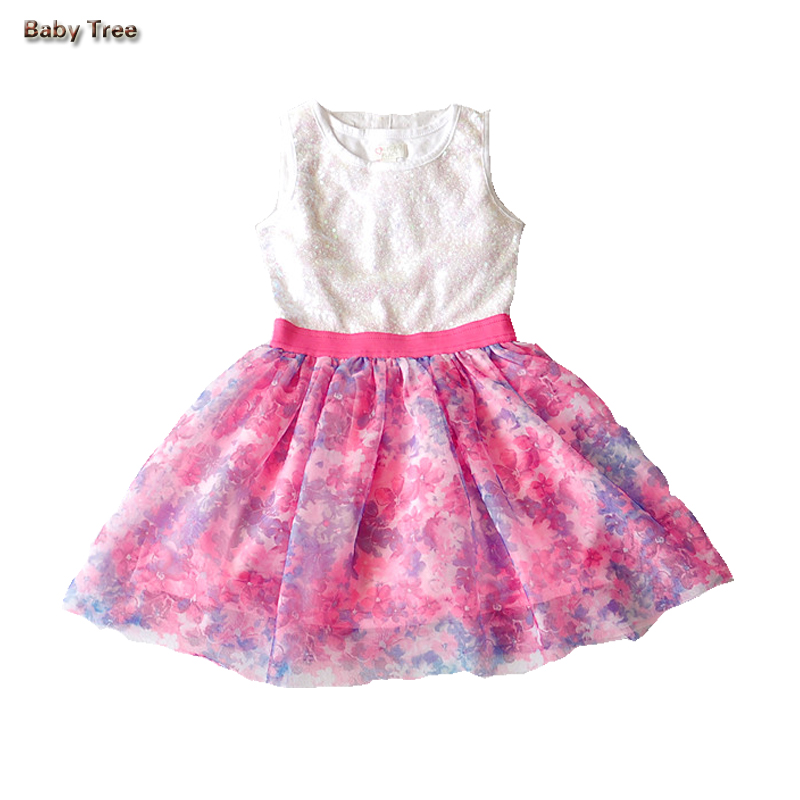 Dresses for girls 7 8 9 10 12 14 15 years Sleeveless Cotton Dress Teenage Dress Summer Clothes for Kids Girl girl dress 2017 summer girls style fashion sleeveless printed dresses teenagers party clothes party dresses for girl 12 20 years page 9