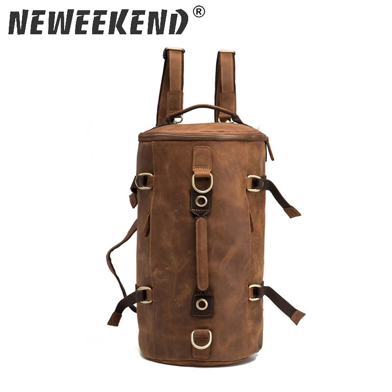 Neweekend Brand Travel Large Capacity Backpack Male Luggage Shoulder Bag Computer Backpacking Men Functional HandBags 2099 men travel canvas backpack large capacity male luggage shoulder bag computer backpacking men student vintage casual backpack