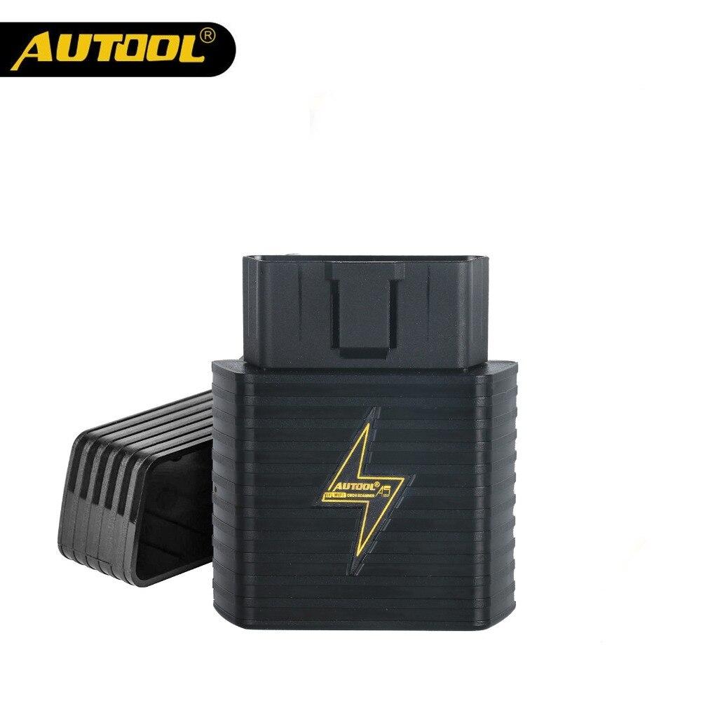 AUTOOL A5 OBD2 II ELM327 V1.5 Car Scanner ELM 327 OBD Car HUD Code Reader WIFI Bluetooth Multifunction Auto Scan Diagnostic Tool