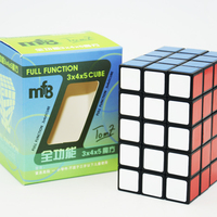 New MF8 3x4x5 345 Black Assembled Without Stickering Plastic Puzzle Magic Cube Twist Toy Magic Cube