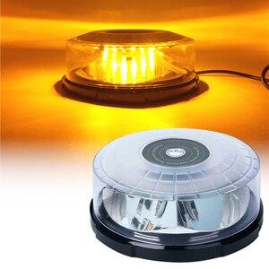 Super Bright na dach samochodowy migające światło błyskawica sufitowe światła stroboskopowe lampki sygnalizacyjne LED awaryjne światła ostrzegawcze policji