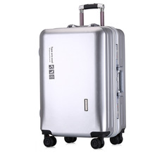 LEINASEN 20-26 inch fashion travel luggage High capacity Rolling Suitcases  Lightweight Carry on Spinner Wheel Zipper Luggage