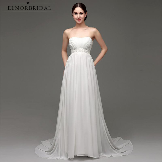 Simple Cheap Bridal Gowns