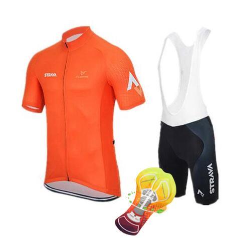 2018 strava Sommer Radtrikots herren Team radfahren Tragen Kurzarm Bike Jersey Team Racing Kleid Radfahren Kleidung