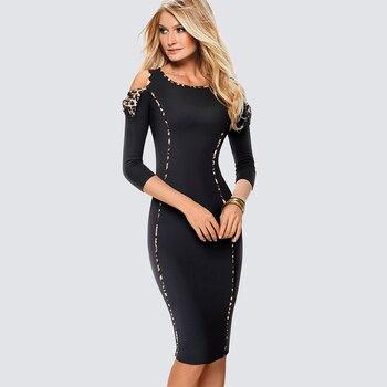 57f5583fee1 Product Offer. Сексуальное платье с открытыми плечами облегающее черное  леопардовое Платье с принтом Клубное Ночное платье повседневное офисное  женское .