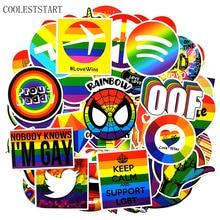 100 Pcs/set Tide Brand Rainbow Graffiti Stickers For Refrigerator Lapto