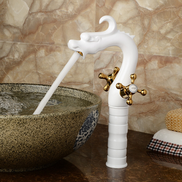 Aliexpress.com : Buy Luxury Countertop Tall Dragon Style Basin Sink ...
