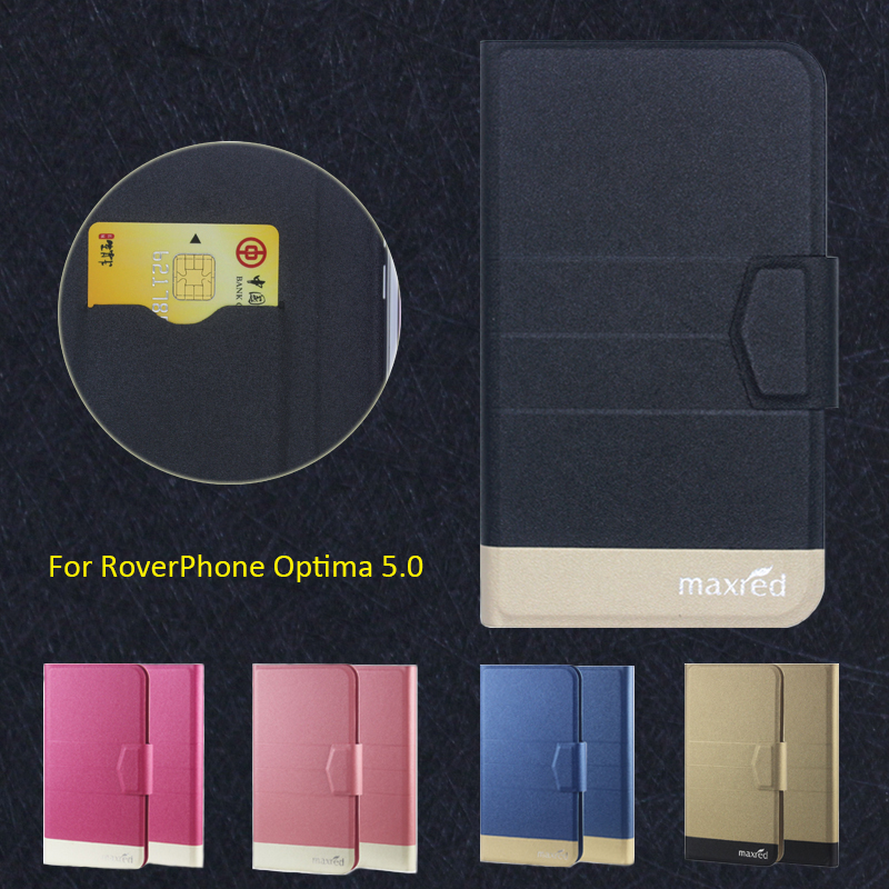¡ Caliente! RoverPhone Optima 5.0 Caja Del Teléfono, 5 Colores de la Alta calida