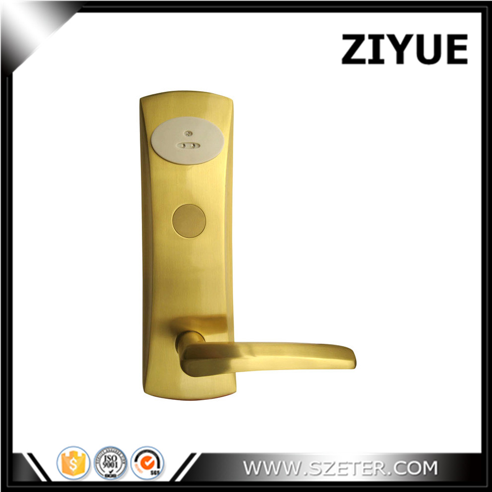 China Smart Hotel lock Electronic Safe  RFID hotel card lock supplier China factory ET803RF hotel lock system rfid t5577 hotel lock gold silver zinc alloy forging material sn ca 8037