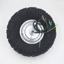 14.5 Electric Wheelbarrow Gear Motor 24V 36V 48V 250W 350W 500W All Terrain kit Fat Off road Rough Tyre