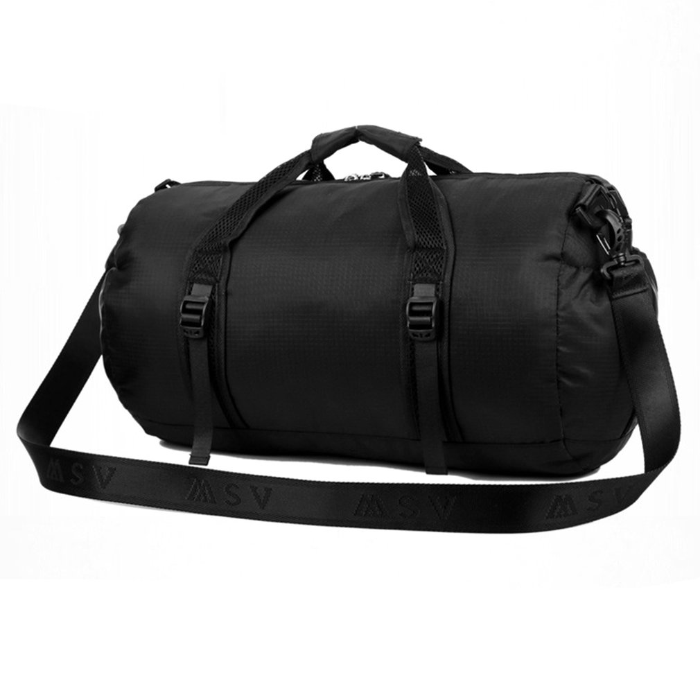 Universal Folding Men Women Sport Nylon Bag Professional Unisex Shoulder Gym Bag Unisex Training Shoulder Bag Yoga Gym Luggage