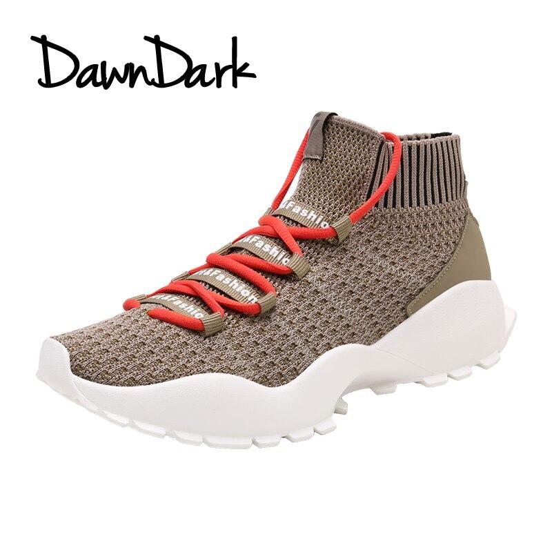 Для мужчин Runnig обувь летние дышащие кроссовки легкие Прогулки Открытый Туфли без каблуков скольжения на спорт человек мужская обувь