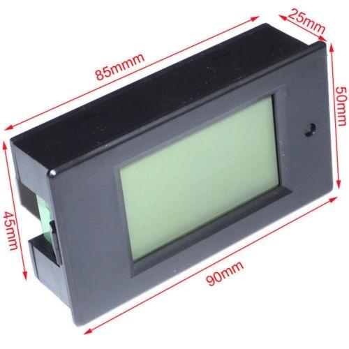 Woltomierz cyfrowy AC Mierniki napięcia 80 ~ 260V / 100A Moc Energia - Przyrządy pomiarowe - Zdjęcie 3