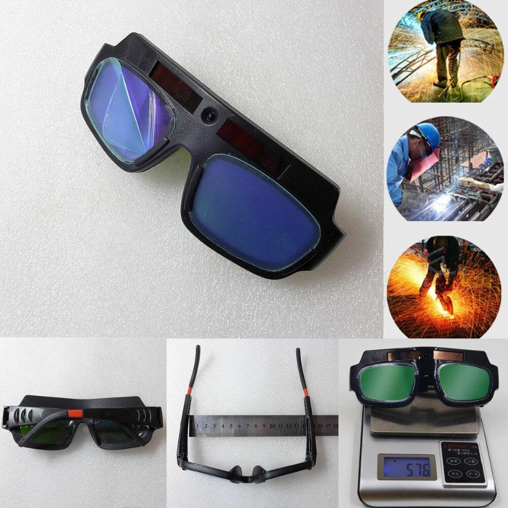 Sehen HD Video Innerhalb! Solar Betriebene Auto Verdunkelung Schweiß Helm Maske Schweißen Glas Schweißen Gläser