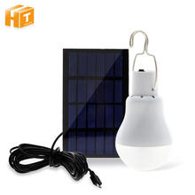 4 Types Portable Solar Light 12W 15W Powered Energy Lamp 5V LED Bulb for Outdoors Camping Tent