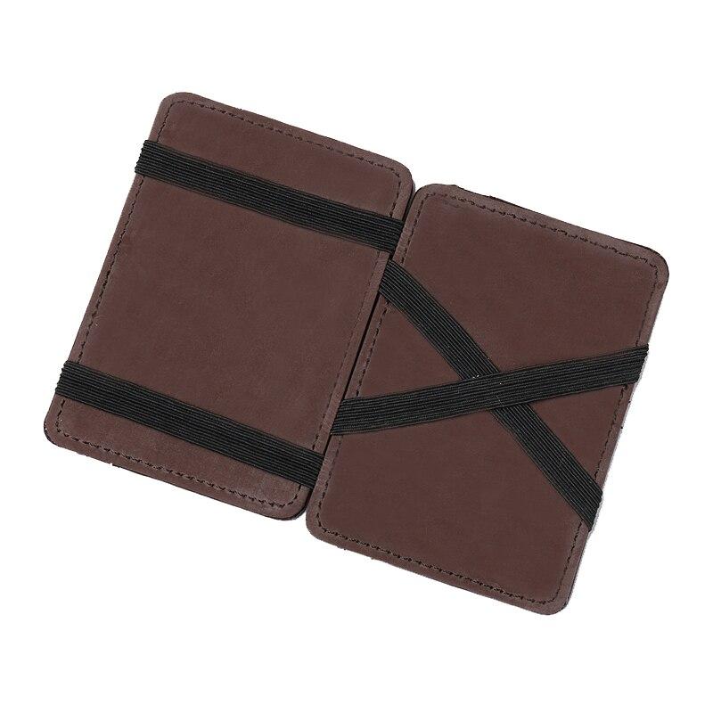 2018 New Arrival PU Leather Magic Wallet Fashion Designer Magic Flip Wallet Men Money Clip MSQB003