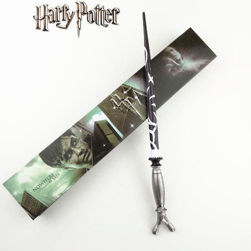 Cosplay Horace.E.F.Slughorn Play Magical Magic Wand Gift In Box Metal Core Harry Potter Magical Wand
