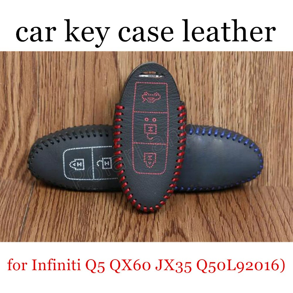 2012 Infiniti Qx60: Only Red Discount Price Car Key Case Cover Hand Sewing