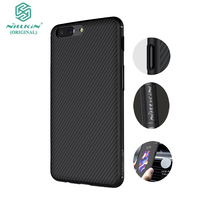 One Plus 5 Case Nillkin Synthetic Fiber Oneplus 5 Cover Oneplus 5t Case Carbon Fiber Thin