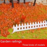 Teraysunポリベロアveriatyの景観モデル砂テーブルモデルの室内装飾材料庭手すりモデル