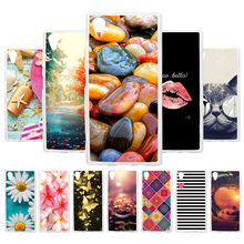 Custom Soft Silicon Case For Sony XA1 Plus Case Coque For Sony Xperia XA1 Plus Z6 G3412 G3121 Cover Painted Back Housing Fundas лампочка gauss led filament candle tailed dimmable e14 5w 4100k 104801205 d
