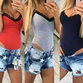 2017 New Europe Women Leotard Sexy Deep V Sleeveless Lace Splicing Fashion Slim Large Size 3 Colors