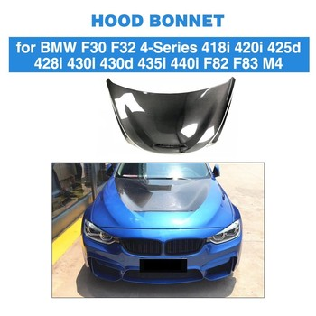 Carbon Fiber Car Racing Hood Bonnet Engine Cover for BMW 3 / 4 Series F30 F32 F80 F82 F83