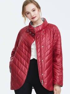Astrid 2019 Зима новое поступление женская куртка топ красный цвет верхняя одежда высокое качество короткий стиль модное женское зимнее пальто ...