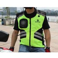 2018 New SCOYCO cross country Motorcycle riding reflective vest Knight safety motorbike vest four seasons Nylon JK32 size M XXL