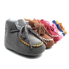 1 Pcs Kids First Walkers Newborn Infant Toder Crib Shoes Soft Sole Kid Girls Boy Baby