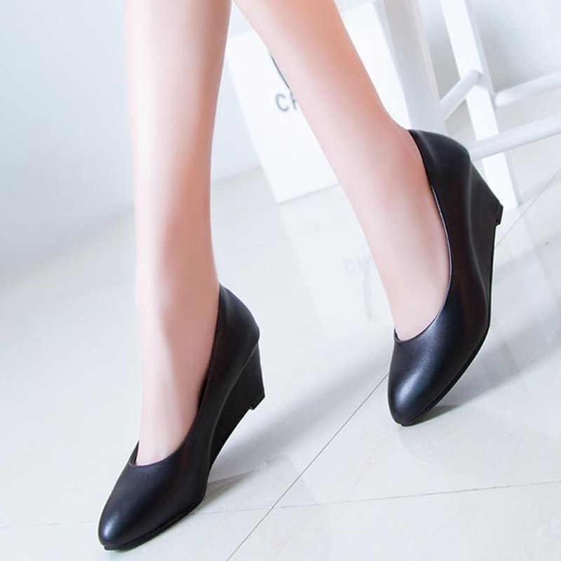 Shoes Women Wedges Pumps High Heels