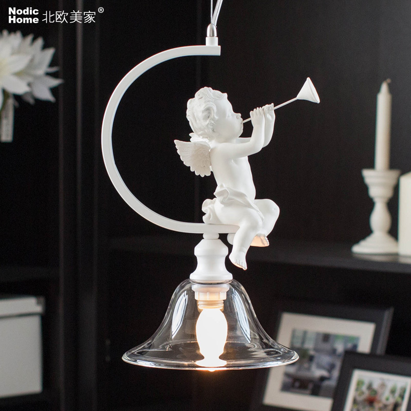 The white LED children room light fashion pendant lights bedroom lamp American country retro lamps for home decor children lamp bedroom children lamp projector led children night lamp led pendant light for kids pendant lamps for baby room