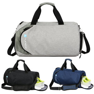 Image 4 - Waterproof sport bags men Large Gym bag with shoe compartment 2019 sac de Women yoga fitness bag Outdoor travel hand luggage bag