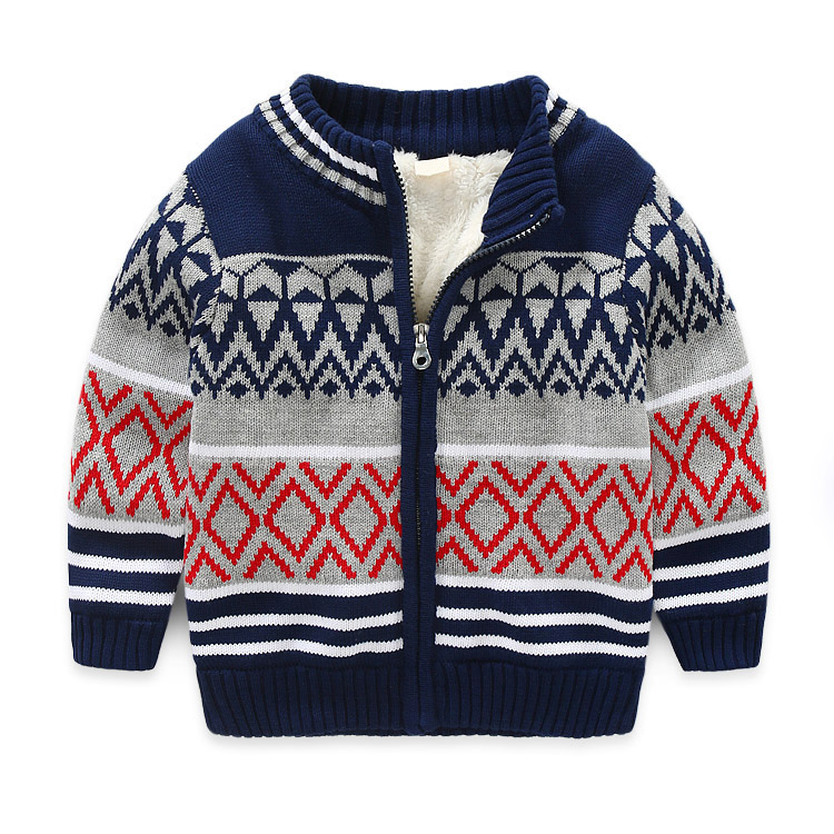 Fashion 2018 Children Sweater For Winter Warm Girls Children Sweaters Christmas Cardigan Coats Clothing Bottoming Cardigan 3-8T