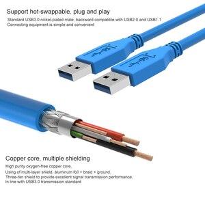Image 3 - سرعة سريعة USB3.0 تمديد كابل نوع الذكور إلى نوع ذكر الحبل 0.5 متر 1 متر كابل يو اس بي ل المبرد كاميرا ويب سيارة MP3 كاميرا USB Cabo